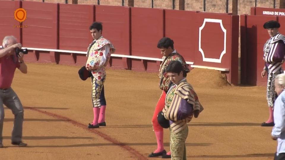 Video novillada of the Real Maestranza de Sevilla 28 May 2017