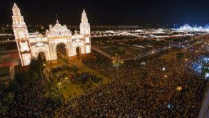 Alumbrado Feria Abril Sevilla
