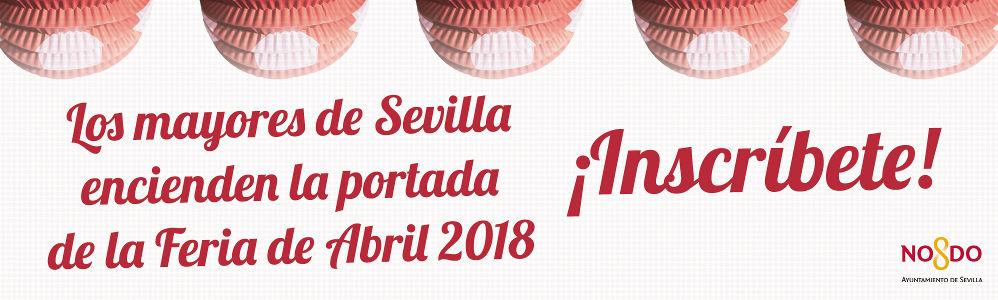 Inscripciones alumbrao de la feria de abril de Sevilla