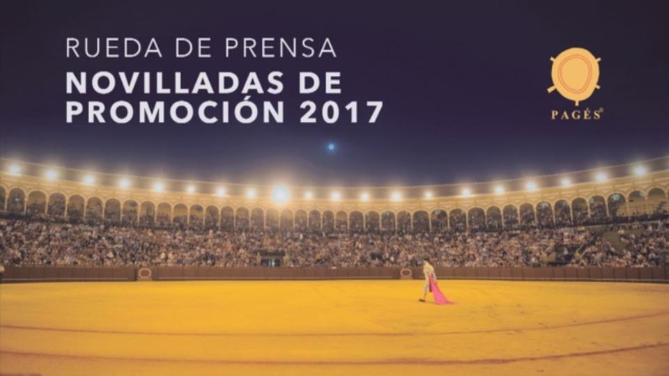 Presentados los carteles de las novilladas de promoción 2017 en la Real Maestranza de Sevilla