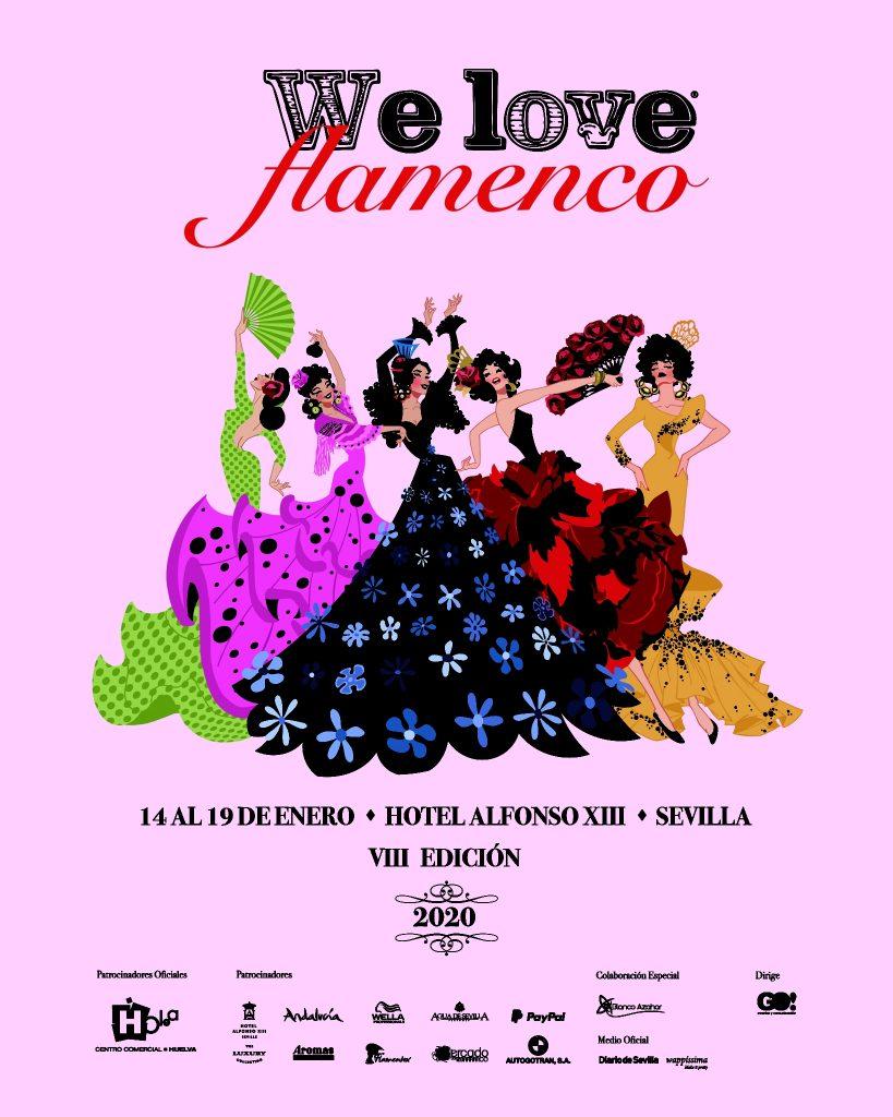 We Love Flamenco 2020. Desfiles y Programa de la Pasarela de moda flamenca.