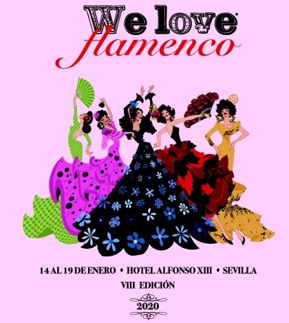 We Love Flamenco 2020. Parades and Gateway Program flamenco fashion.